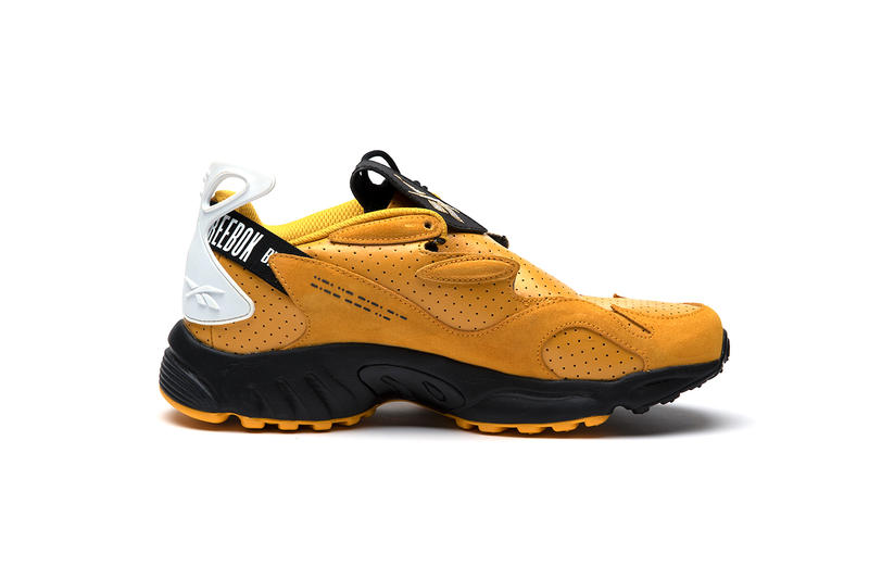 Reebok Daytona Experiment 2 by Pyer Moss shoes sneakers kicks footwear hypebeast classic yellow leather DMX basketball NBA style
