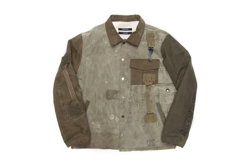 Reese Cooper Vintage Military Jacket Giveaway Army Navy
