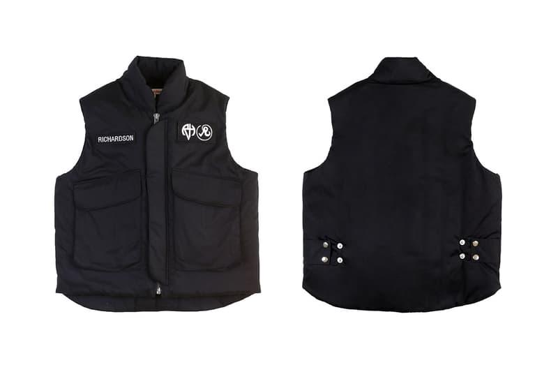FPAR Richardson Holiday Collection Collab Release Rugby Polo Flak Jacket t shirt long sleeve Tetsu Nishiyama