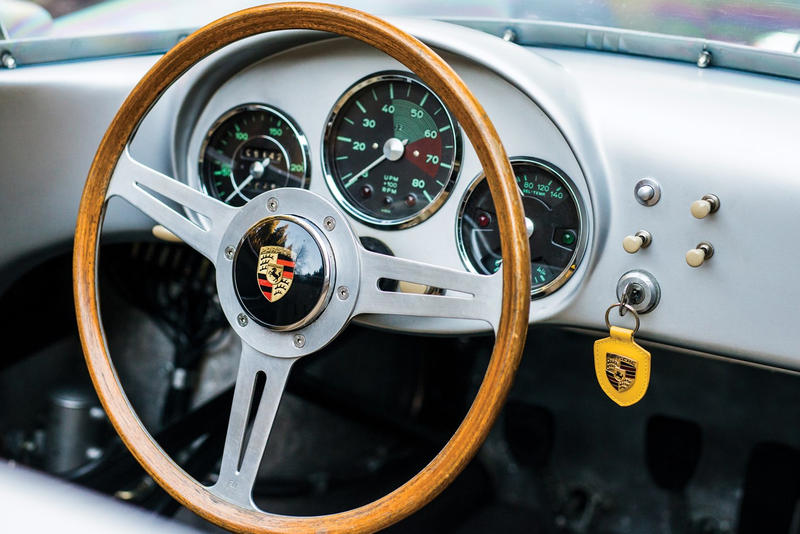 RM Sotheby's 1956 Porsche 550 RS Spyder automotive cars classic porsche auctions