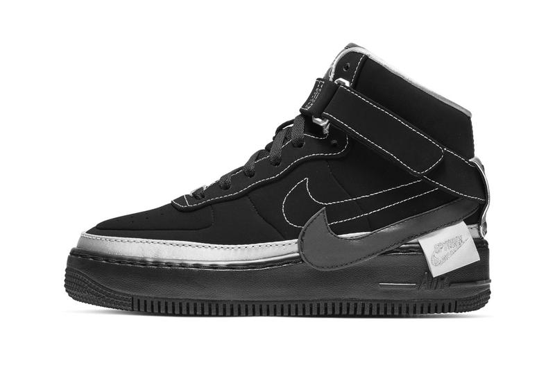 37ebe78e271095 Rox Brown x Nike WMNS Air Force 1 Jester High release info date price  sneaker black