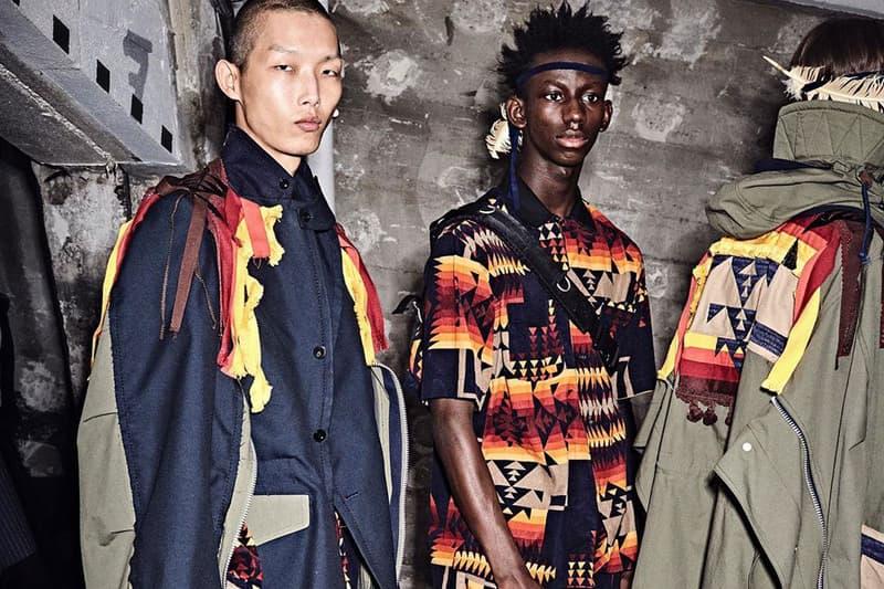 sacai Dr. Woo  Pendleton SS19 Items Release jacket shirt date info buy japan menswear pre-spring womenswear