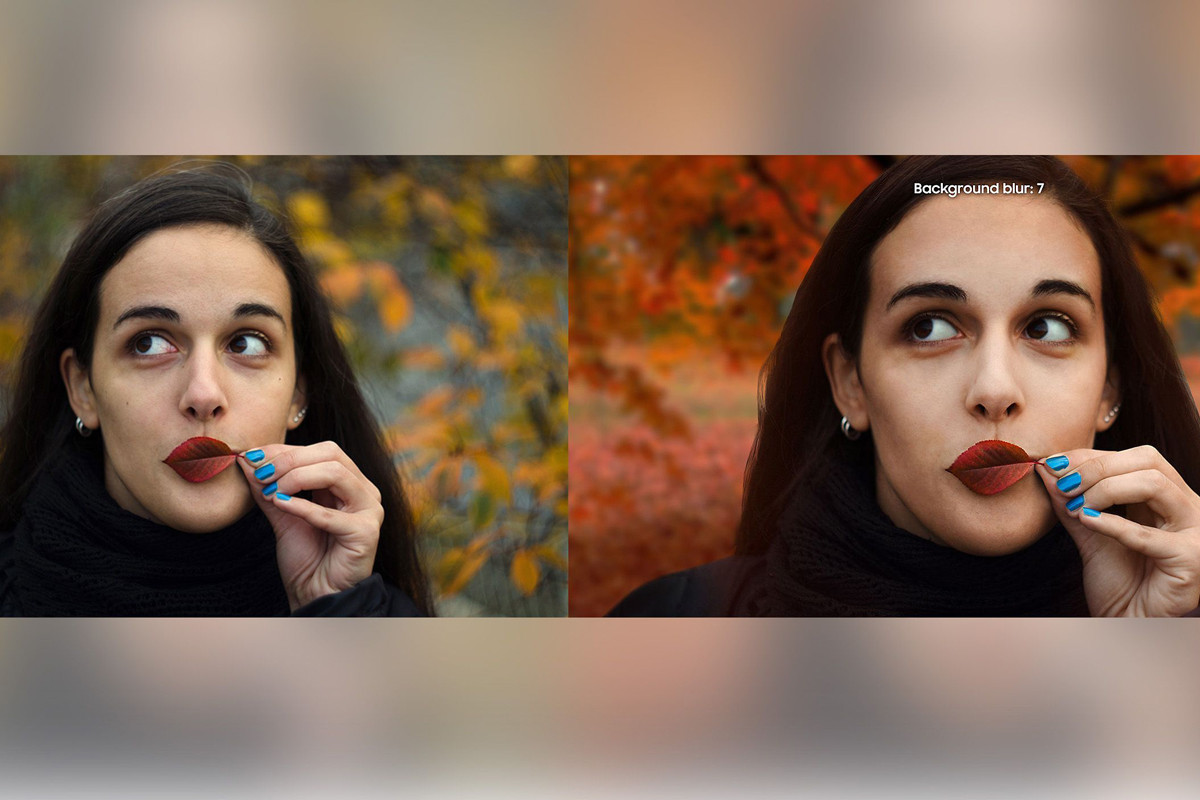 "Samsung Exposed for Using Stock DSLR Photo to Fake ""Portrait Mode"" Feature"