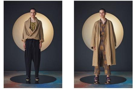 Sasquatchfabrix. SS19 Blends Kimono With Sportswear