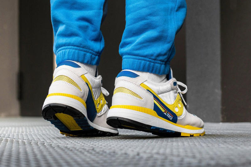 saucony azura og release date 2018 december footwear blue yellow white