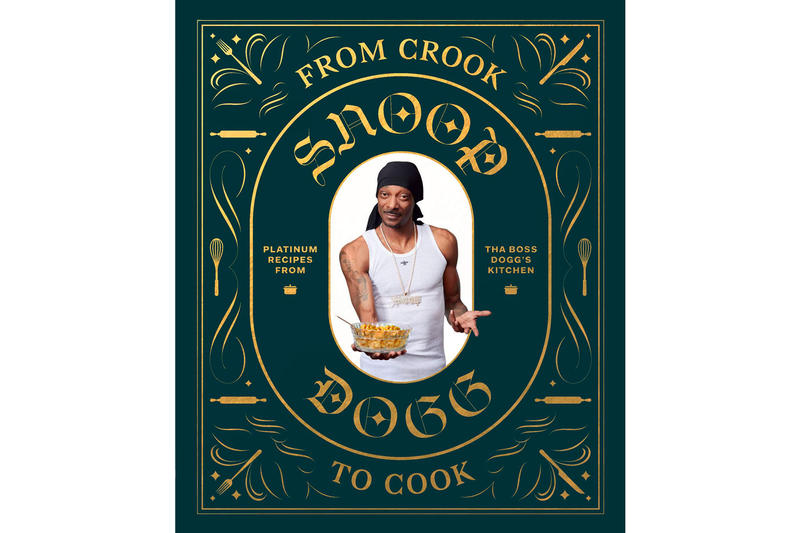 Snoop Dogg 'From Crook to Cook' Cookbook Platinum Recipes from Tha Boss Dogg's Kitchen hardback price purchase online amazon book