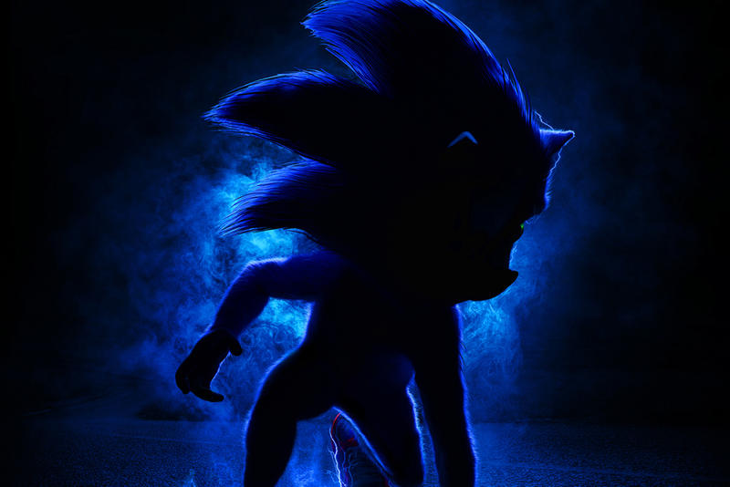 First Look Sonic the Hedgehog Movie