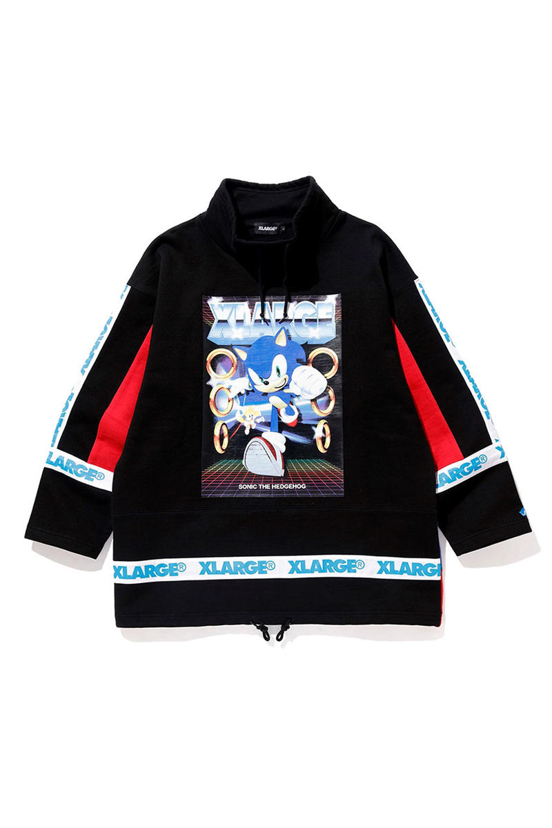 Sonic The Hedgehog X Xlarge Capsule Collection Hypebeast
