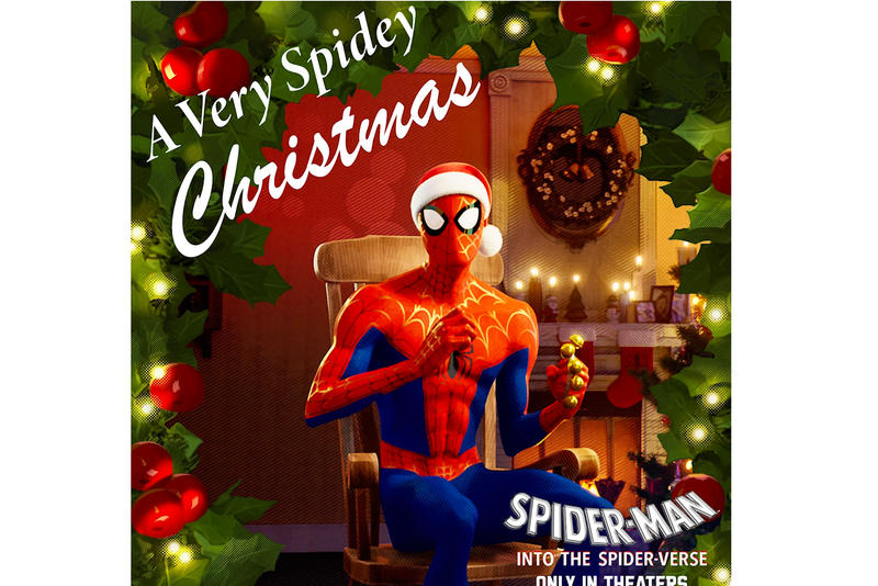 'Spider-Man: Into the Spider-Verse' Shares Christmas EP sony albums music