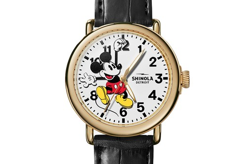 StockX & Shinola Auctioning One-Of-A-Kind Mickey Mouse Watch