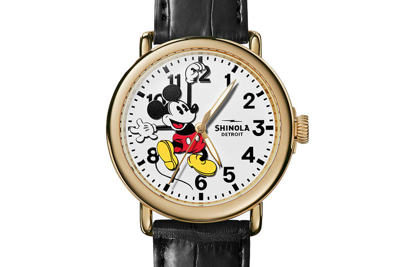 StockX Shinola Mickey Mouse Watch Auction