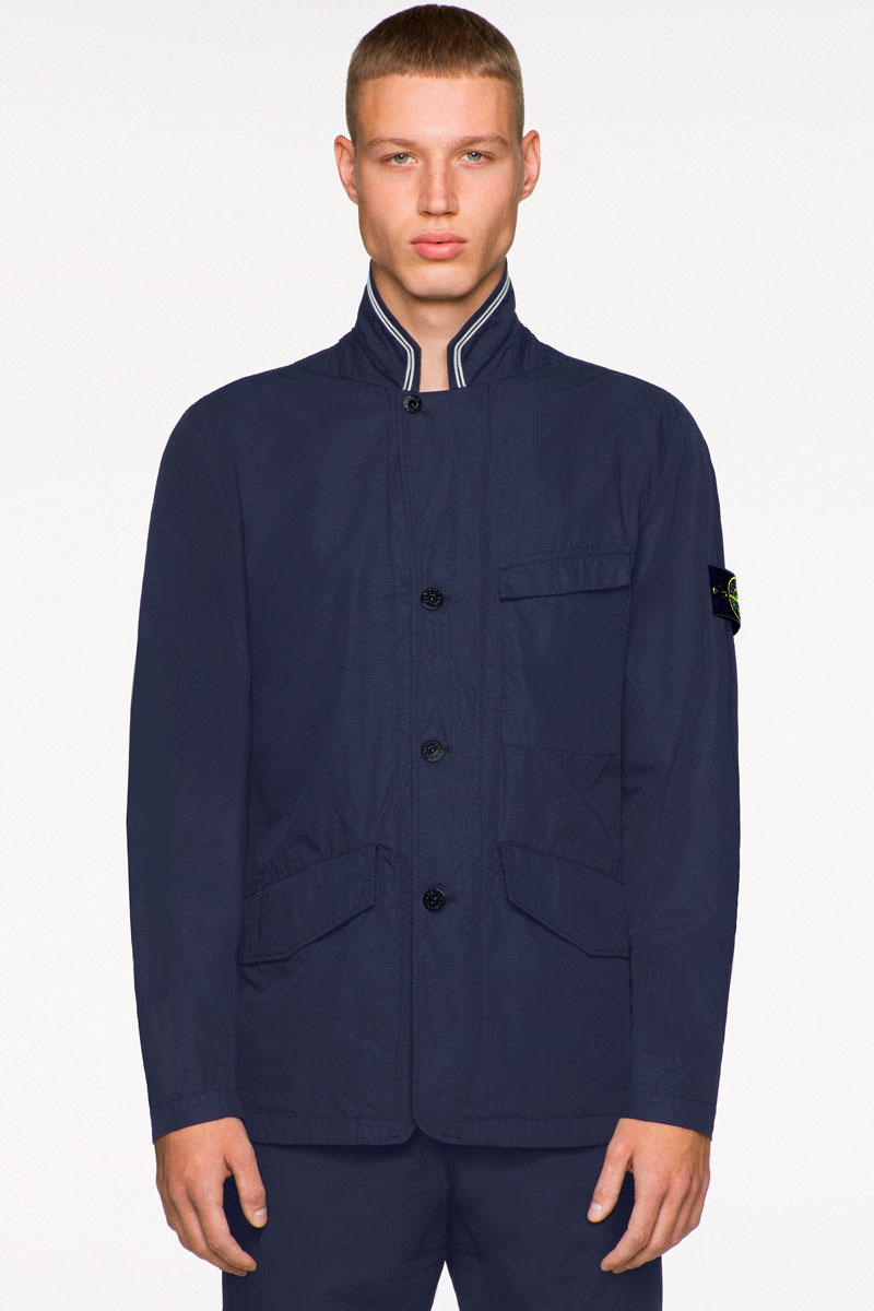 Stone Island Spring Summer 2019 Collection Preview Lookbook Teaser Jacket Outerwear Coat Functional Icon Imagery Carlo Rivetti