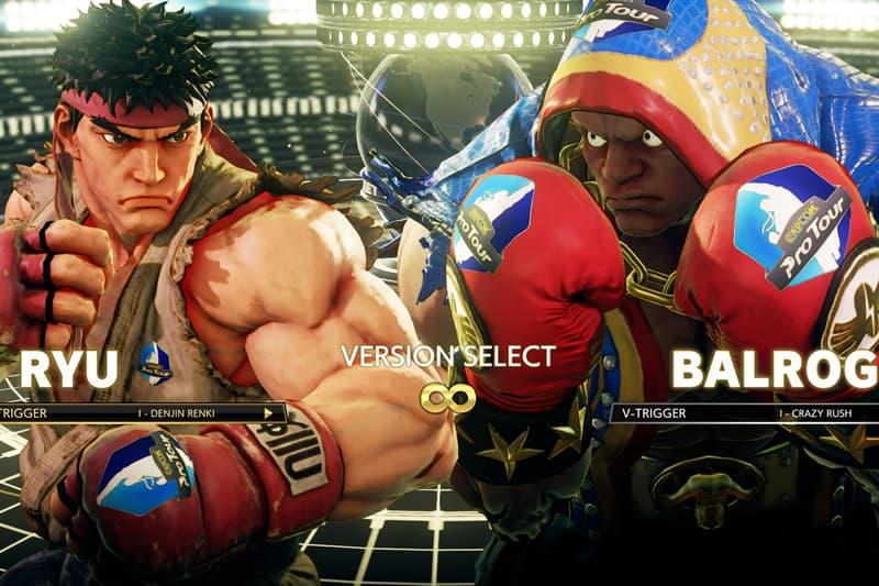 Street Fighter V: Arcade Edition Capcom In-Game Ads Capcom Pro Tour Ring of Power