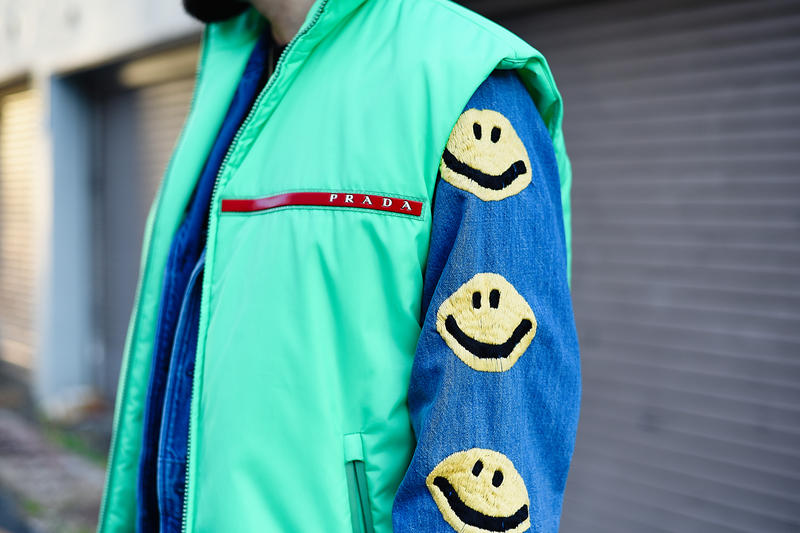 Streetsnaps Salehe Bembury Poggy Tokyo Japan United Arrows & Sons Versace Chain Reaction