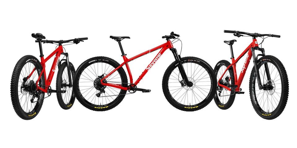 Supreme X Santa Cruz Chameleon Mountain Bike | HYPEBEAST