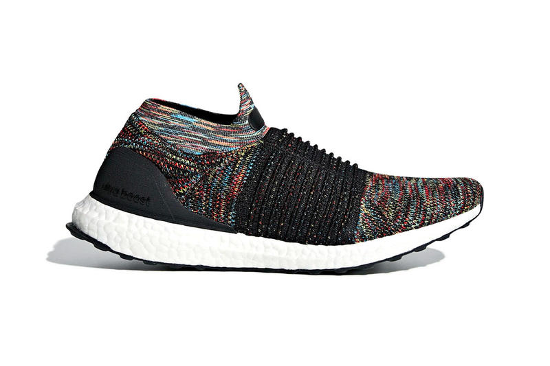 a58643f06 adidas UltraBOOST laceless red teal purple yellow black boost