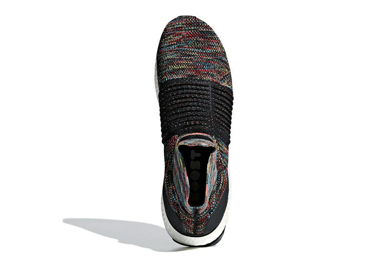 2d0aa942fde adidas UltraBOOST laceless red teal purple yellow black boost