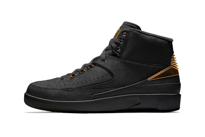 "Jordan Brand to Release Air Jordan 2 ""Black/Metallic Gold"" for Black History Month"