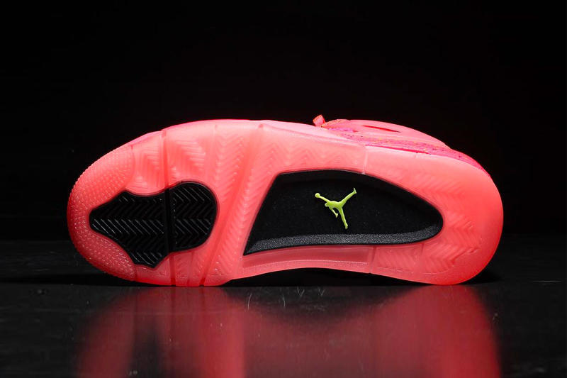 """Air Jordan 4 NRG """"Hot Punch"""" Release Date nike nba shoes sneakers colorway pink info price stockist"""