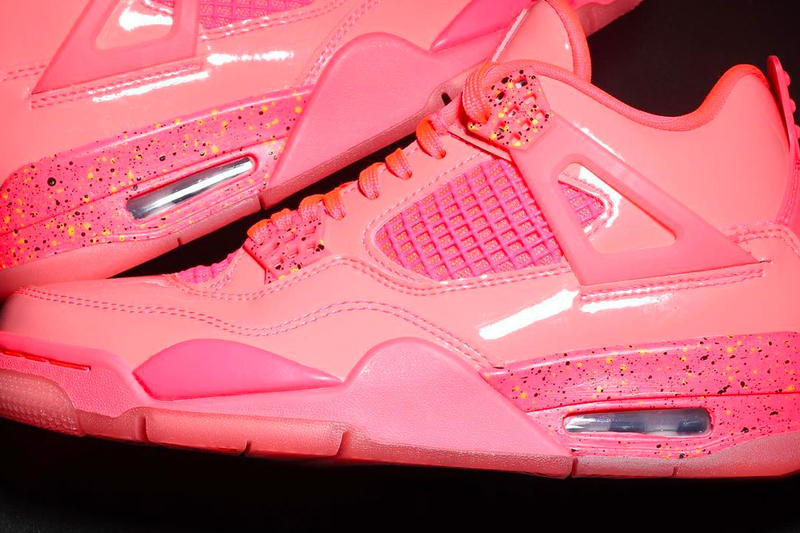 "Air Jordan 4 NRG ""Hot Punch"" Release Date nike nba shoes sneakers colorway pink info price stockist"