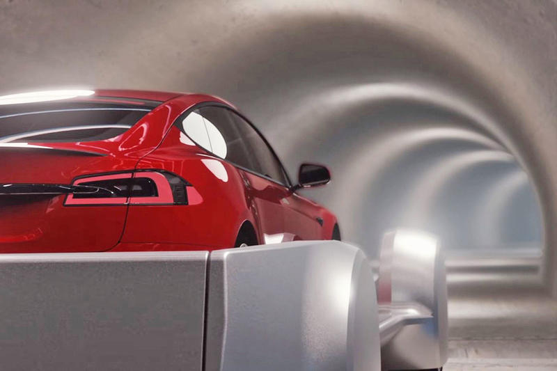 Elon Musk The Boring Company Underground Tunnel Los Angeles L.A.