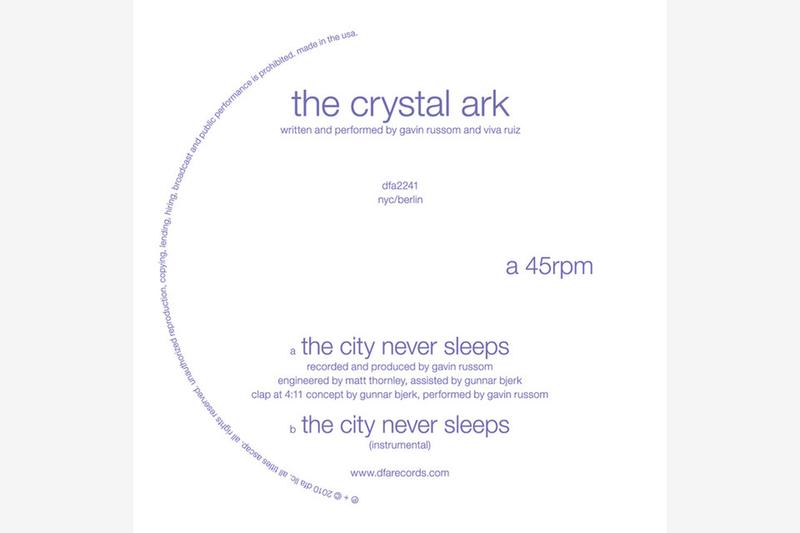 The Crystal Ark - The City Never Sleeps