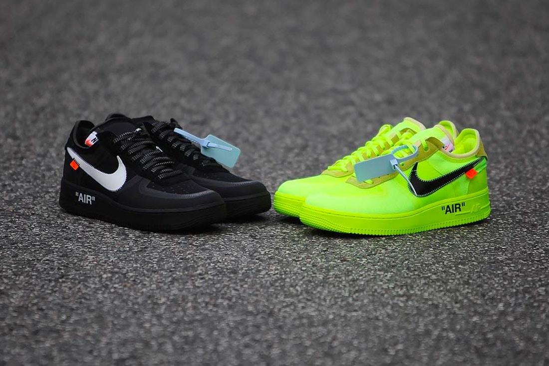 nuovo di zecca d7995 6ece0 Off-White x Nike AF1