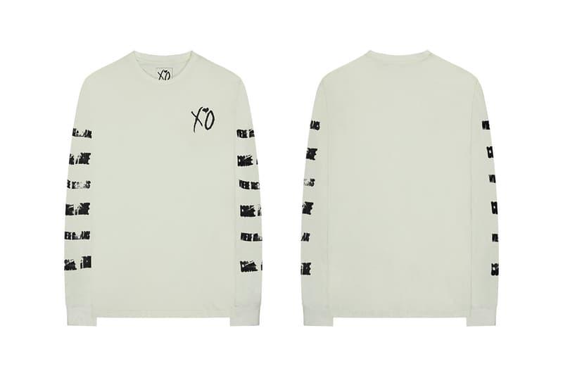 The Weeknd Final 2018 MERCH RELEASE 004 xo starboy long sleeve tees hoodies jackets bombers hats