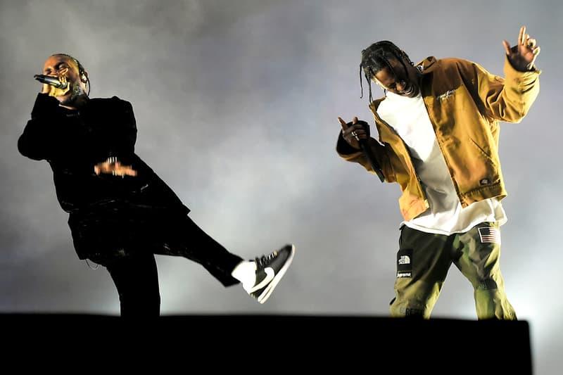 Kendrick Lamar & Travis Scott TDE 5th Annual Holiday Toy Drive Performance videos Top Dawg Entertainment