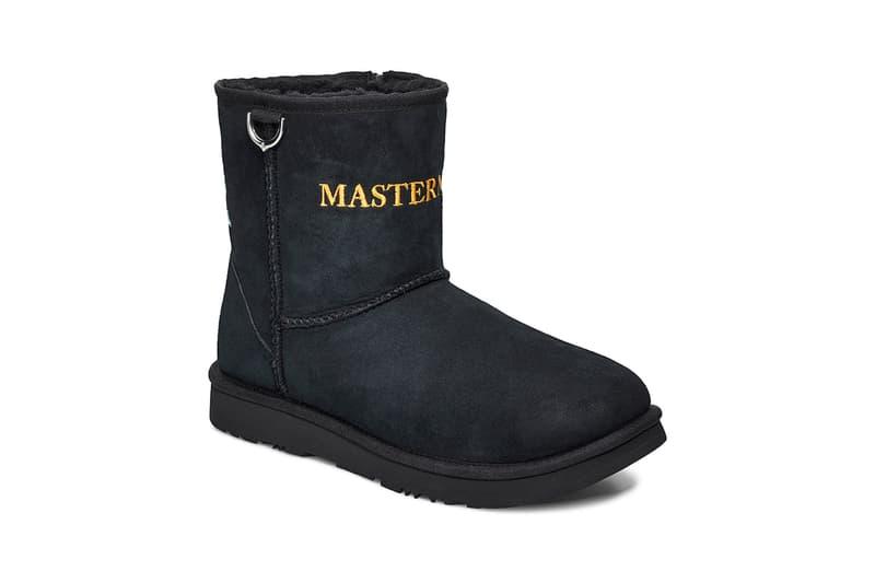 UGG mastermind WORLD Classic Mini Boot Release chestnut black masaaki Homma