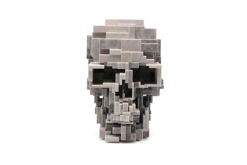 unique board adam lister skull sculpture artworks collectibles