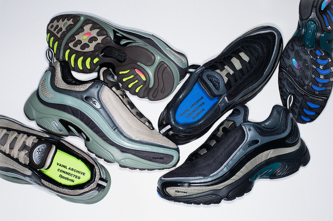 Vainl Archive Reebok Daytona DMX Collaboration classic japan sneaker shoe CONNECTED