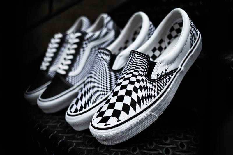cbcb5b590e96e4 END. x Vans  Vertigo  Shoe Collection First Closer Detailed Look Shoes  Trainers Kicks