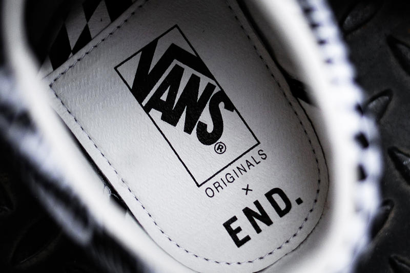 END. x Vans 'Vertigo' Shoe Collection First Closer Detailed Look Shoes Trainers Kicks Sneakers Cop Purchase Buy