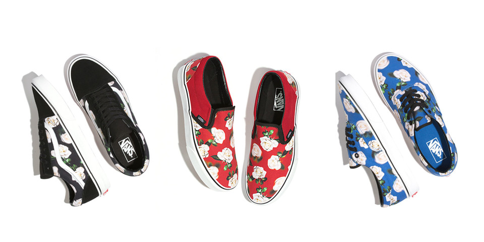 0b110ad9b Vans Romantic Floral Old Skool, Slip On and Era | HYPEBEAST