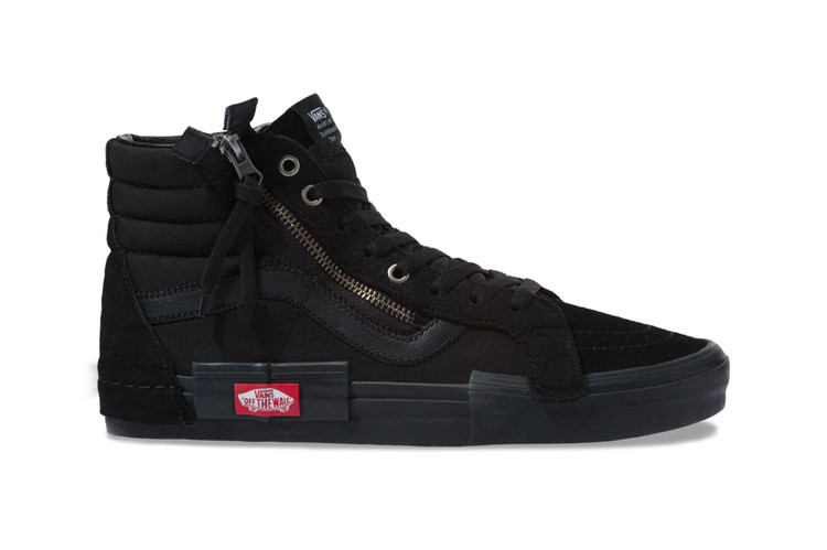 bebf4f358c93 Vans Drops Its Deconstructed Sk8-Hi in Black