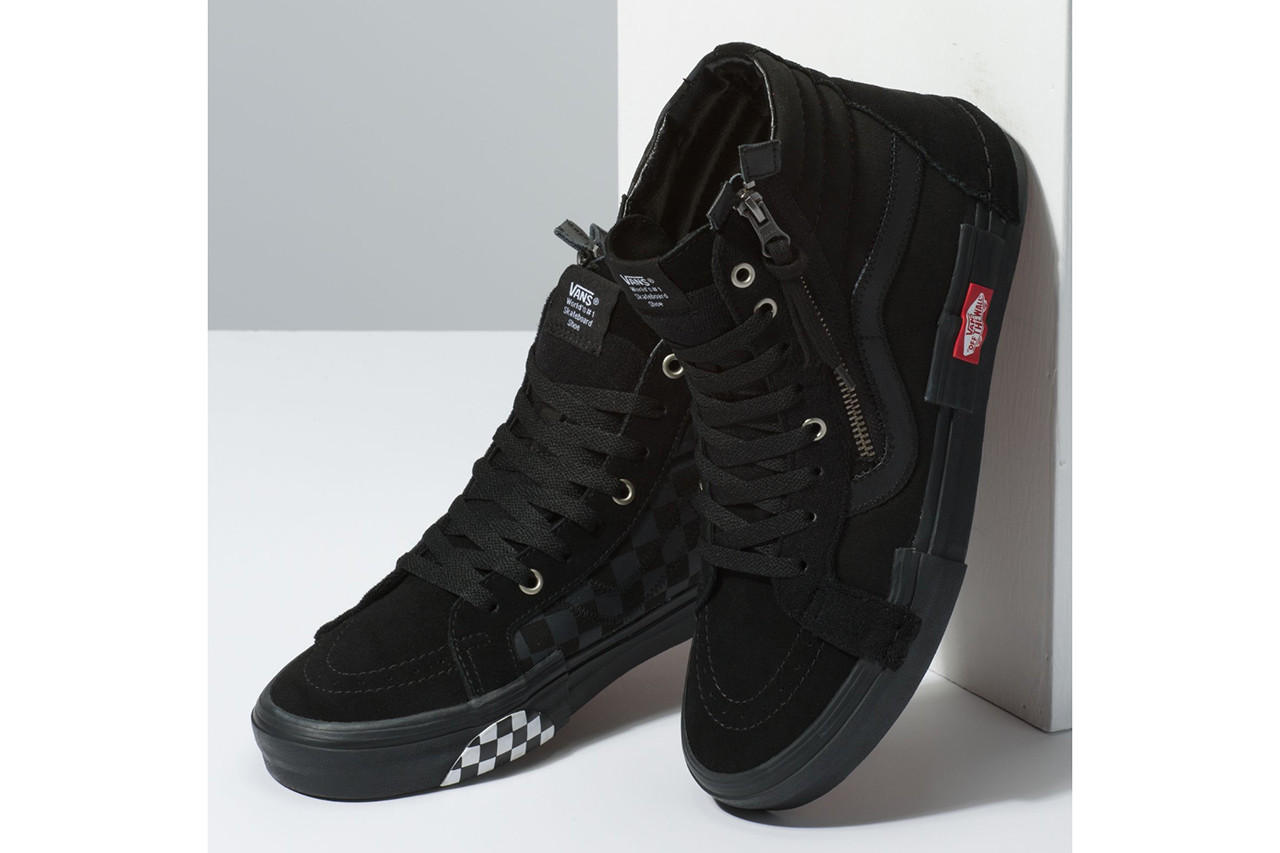 vans sk8 all black