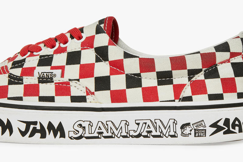 Slam Jam x Vans Collab Release Date Sneakers Shoes Trainers Kicks Footwear Cop Purchase Buy Collab Collaboration Fergus Fergadelic Purcell Era Icon Milano
