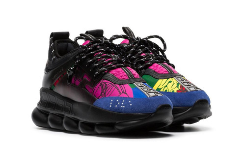 Versace's New Chain Reaction Colorway Is a Definite Head-Turner