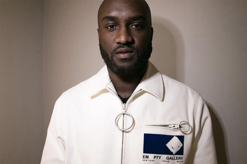 Virgil Abloh Teases Blue Off-White x Nike Air Force 1 Teaser Shoes Trainers Kicks Sneakers Coming Soon Instagram Post Juergen Teller