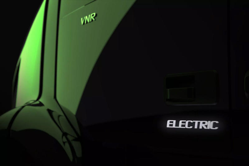"Volvo Trucks Teases New All-Electric Semi Truck ""volvo fl electric"" vnr ""volvo LIGHTS project"""