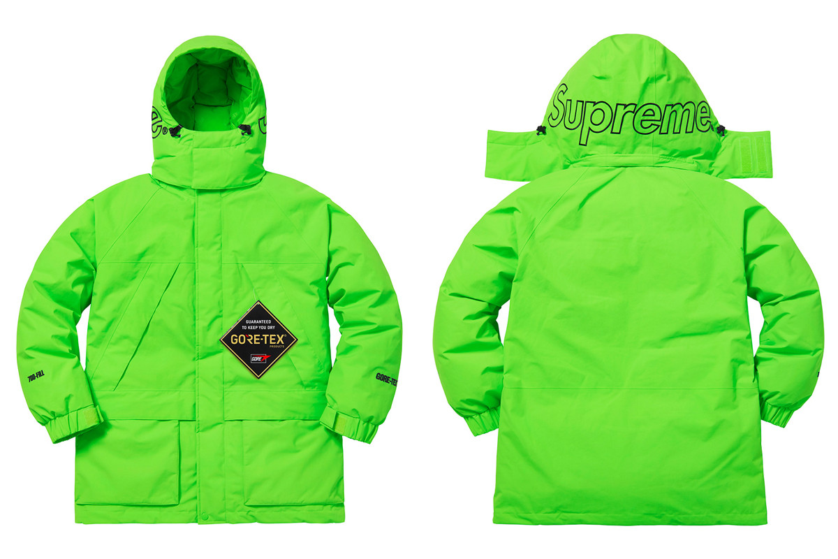 406ff6fd0b72 Supreme Fall Winter 2018 Drop 18 Release Info Date Supreme Palace The North  Face Extra Butter