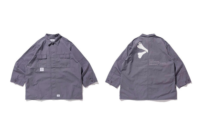 WTAPS Guardian 01 Jacket Cotton Ripstop Gip Release Date Info Orange Grey Blue 01 02