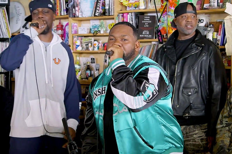 wu tang clan enter the wu tang 36 chambers npr tiny desk concert 2018 december videosn raekwon gza u god rza mastah killah inspectah deck