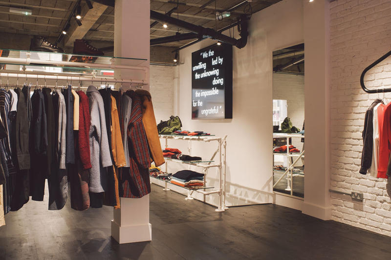 YMC London Lamb's Conduit St Store Inside Look Shops Stores Fashion Clothing Cop Purchase Buy Brands 57 London WC1N 3NB