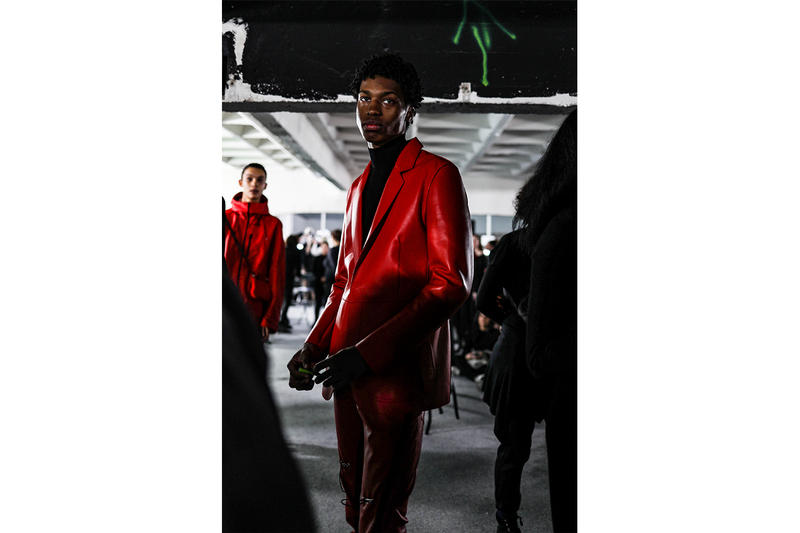 1017 ALYX 9SM Fall Winter 2019 Paris Fashion Week Mens Backstage Shoes Matthew Williams Majocchi Blackmeans Mackintosh Nike