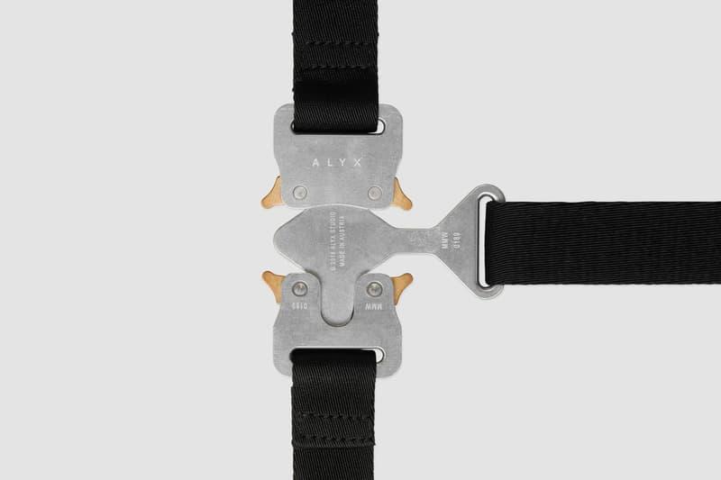 1017 ALYX 9SM Spring Summer 2019 Collection Pre Order Hero Necklace Vest
