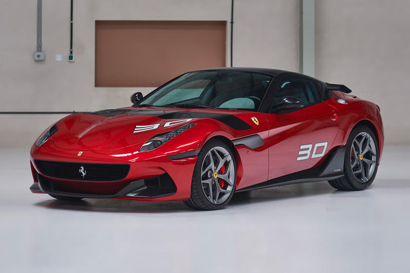 2011 Ferrari SP30 RM Sothebys Auction Red Black 599 GTO XX 458 Italia 612 OTO