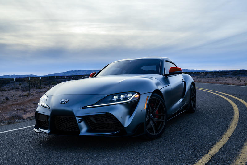 2020 Toyota Gr Supra First Production Auction Price Hypebeast