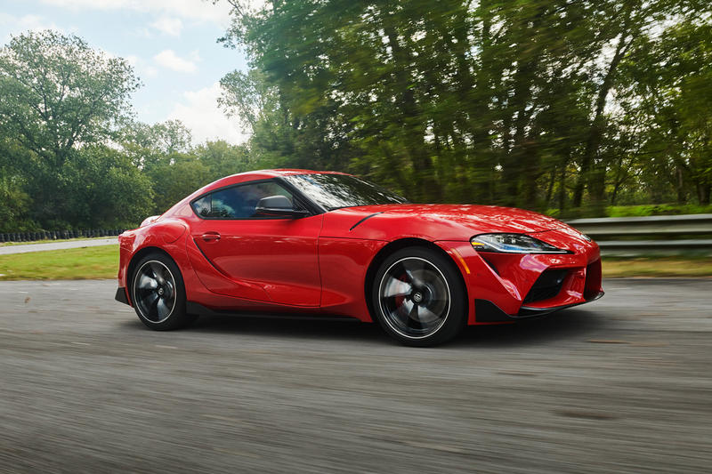 toyota supra official photos cars automotive